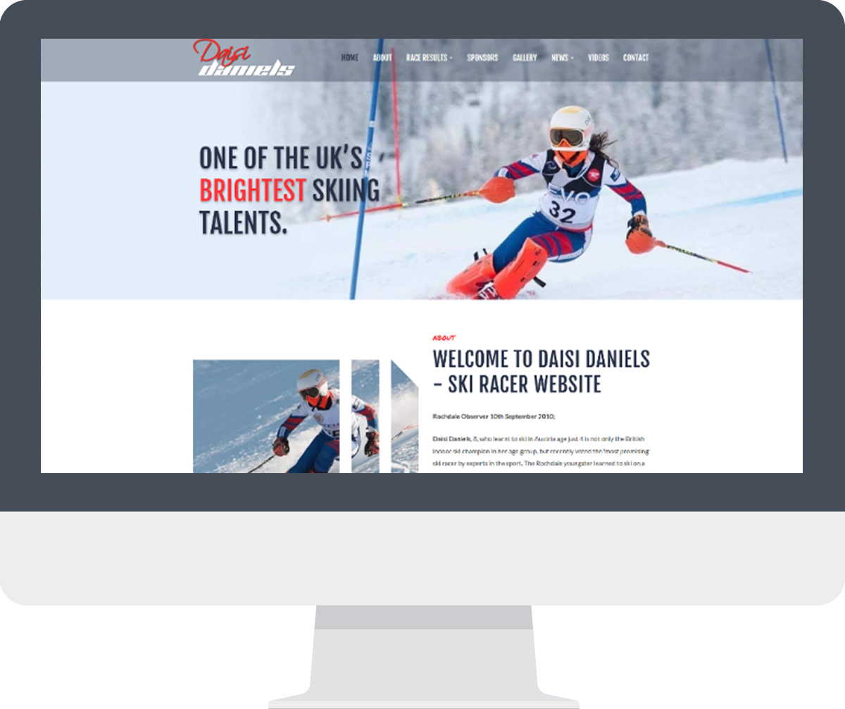 Daisi Daniels CMS Website