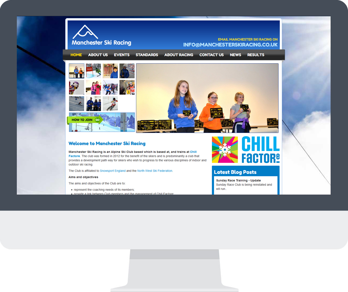 Manchester Ski Racing Website